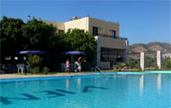 Viena rooms and apartments in Paleochora town, Chania, crete, with swimming pool
