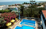 Folia Hotel Few meters of the sandy seaside of Agia Marina.Rooms with mountain or sea view,comfortable with the traditional Greek architecture