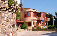 Greece, Peloponissos, Ahaia, Patra, Alissos, ski centre, Castella Beach Hotel, by the beach