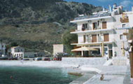 Greece, Peloponissos, Laconia, Gerolimenas, Akroyiali Apartments, Mani, by the beach