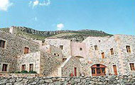 Greece, Peloponissos, Laconia, Pori, Monemvasia, Lithoktisto Hotel, with fireplace
