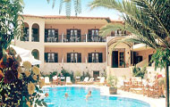 Greece, Macedonia, Halkidiki, Kassandra, Afytos, Stamos Hotel, with pool