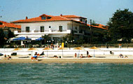 Greece, Macedonia, Pieria, Makrigialos, Olympias Hotel, by the beach