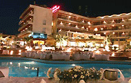 Greece, North Greece, Macedonia, Thessaloniki, Seich Sou Forest, Philipion Hotel, with pool