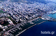 Panoramic View of Patra City