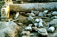 Arcadia Archaeological Sites - Temple of Artemis