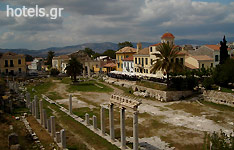Attica Archaeological Sites - Ancient Market