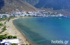 Kamares Beach in Sifnos Island