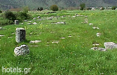 Epiros Archaeological Sites - Temple Ariou Dios (Ioannina)