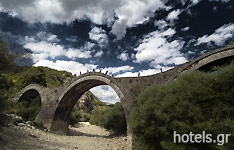 Plakida Bridge in Zagoria Area