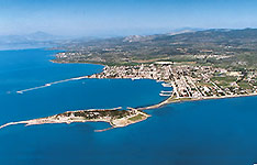 Panoramic View of Eretria
