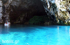 Cave in the water, Paxi Island