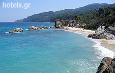 Karydi Beach, in Vourvourou, Chalkidiki