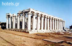 Messinia Archaeological Sites - Temple of Apollo the Helper