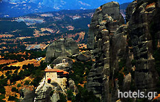 The Rock Towers of Meteora