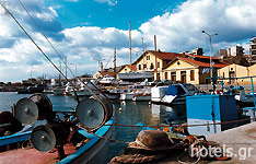 The Port of Alexandroupoli