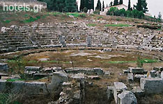 Viotia Archaeological Sites - Ancient Theatre - Odeum of Orchomenos
