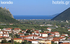 leonidio hotels and apartments Peloponnese greece