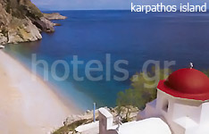 karpathos island hotels and apartments greek islands greece