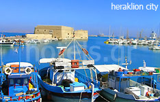 heraklion city hotels and apartments crete island greece