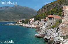 areopolis hotels and apartments Peloponnese greece