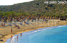 vai palm hotels and apartments crete island greece
