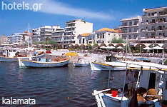 kalamata hotels and apartments Peloponnese greece