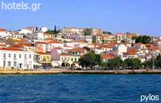 pylos hotels and apartments Peloponnese greece