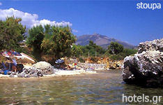 stoupa hotels and apartments Peloponnese greece