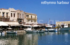 rethymnon hotels and apartments crete island greece